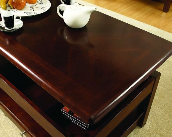 Steve Silver Company Nelson Lift-Top Cocktail Table, Cherry 2